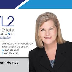 VL2 Real Estate Group Business Card Front