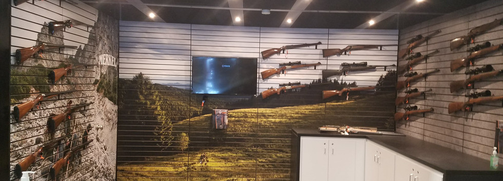 Steyr Arms SHOT Show Booth Interior 1