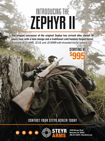 Steyr Ad Zephyr II 2018