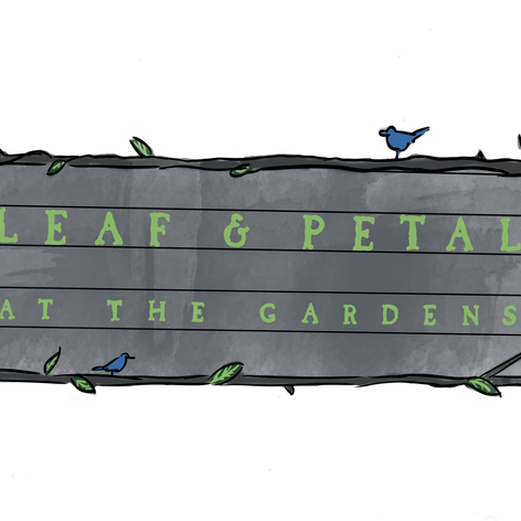 Garden Sign Illustration