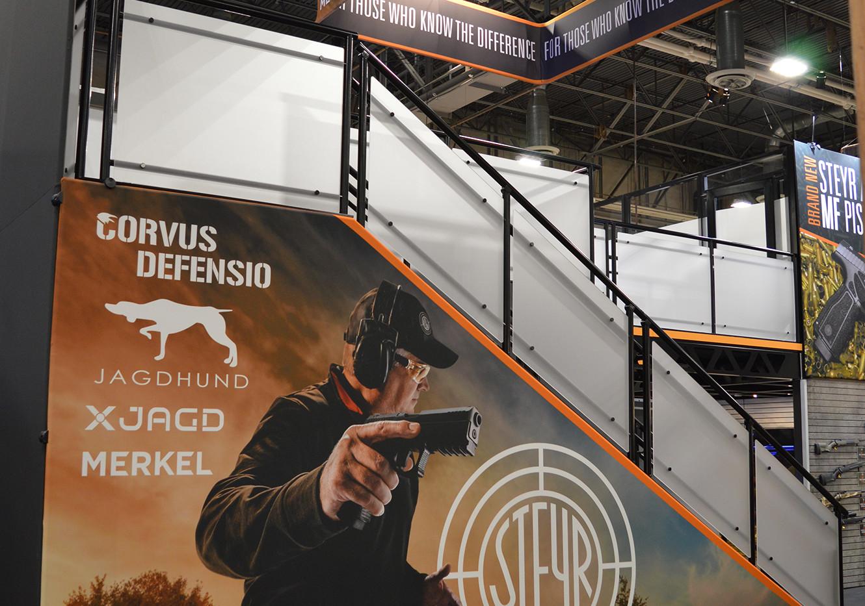 Steyr Arms SHOT Show Booth Angle 4