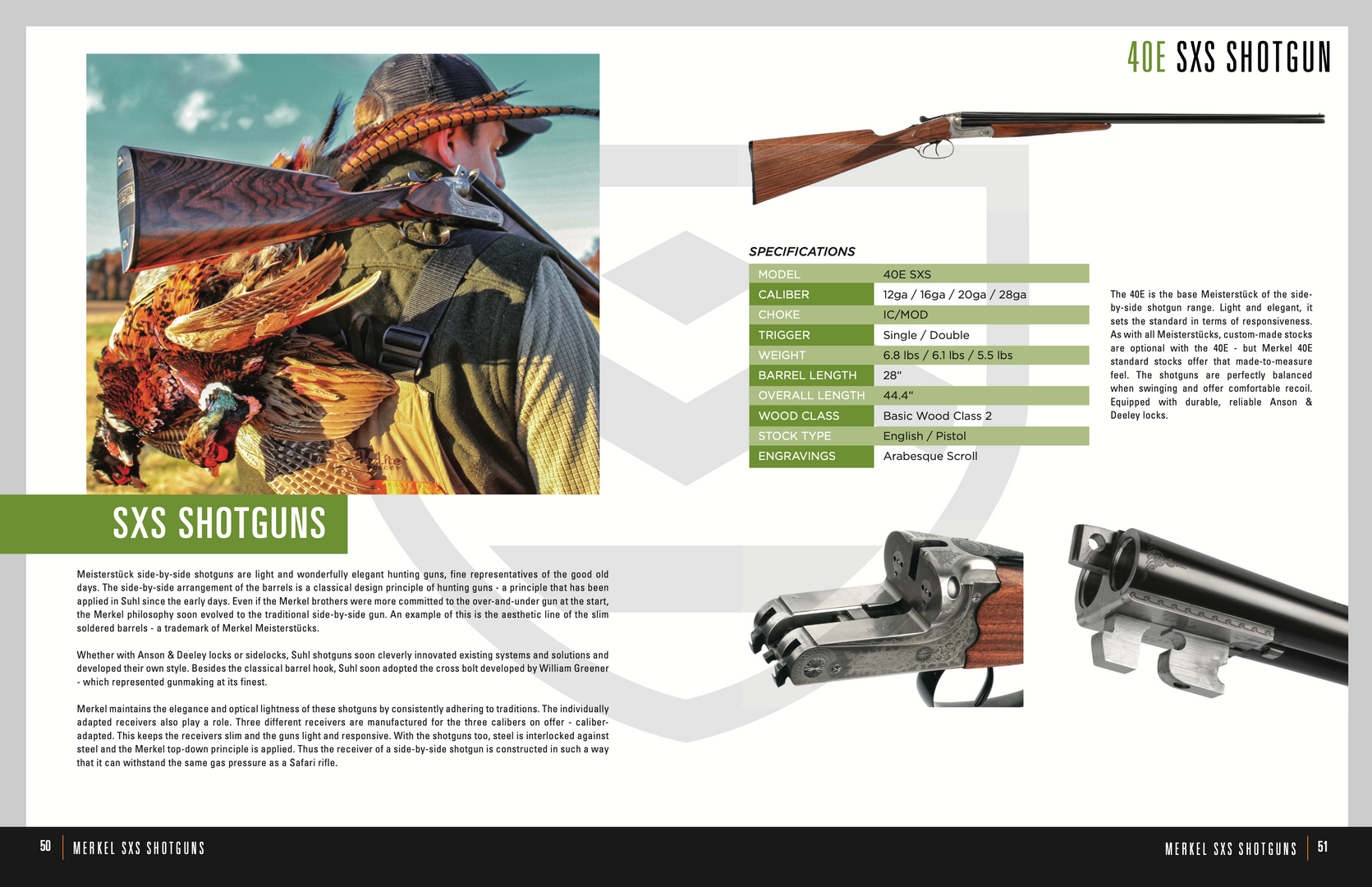 Steyr Catalog Merkel Product Page