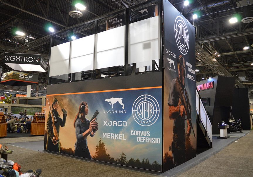Steyr Arms SHOT Show Booth Angle 3