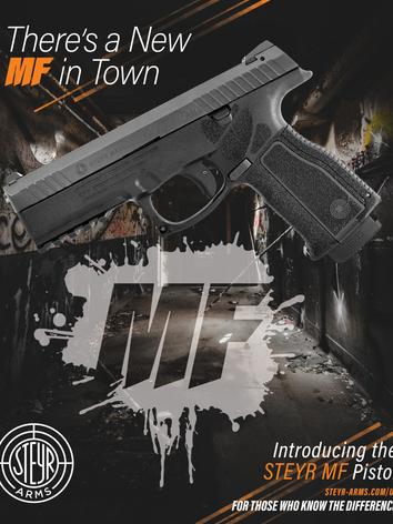 Steyr Pistol Ad - Print Feb 2019