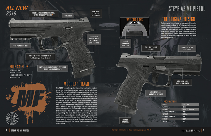 Steyr Catalog Product Page
