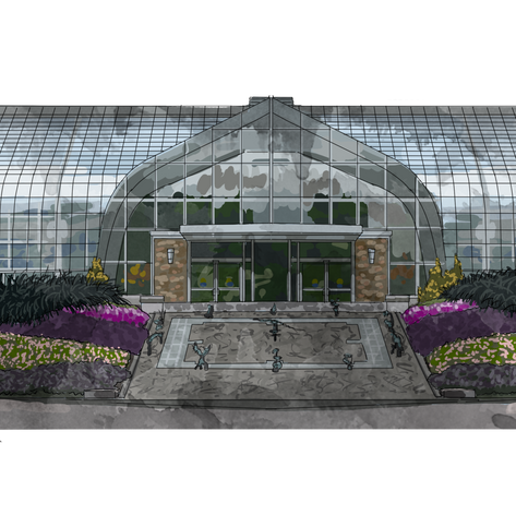 Conservatory Illustration
