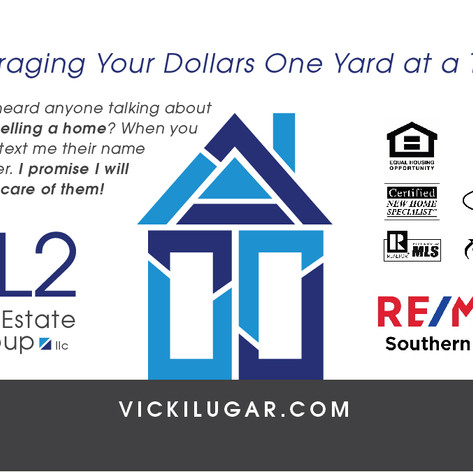 VL2 Real Estate Group Business Card Back