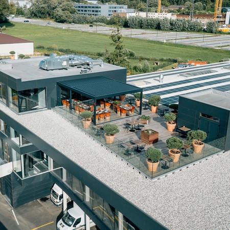 toit rooftop restaurant