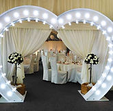 giant wedding arch | just smiles entertainment ceredigion