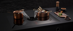 The Bora Pure downdraft extactor is perfect for an open plan kitchen design.