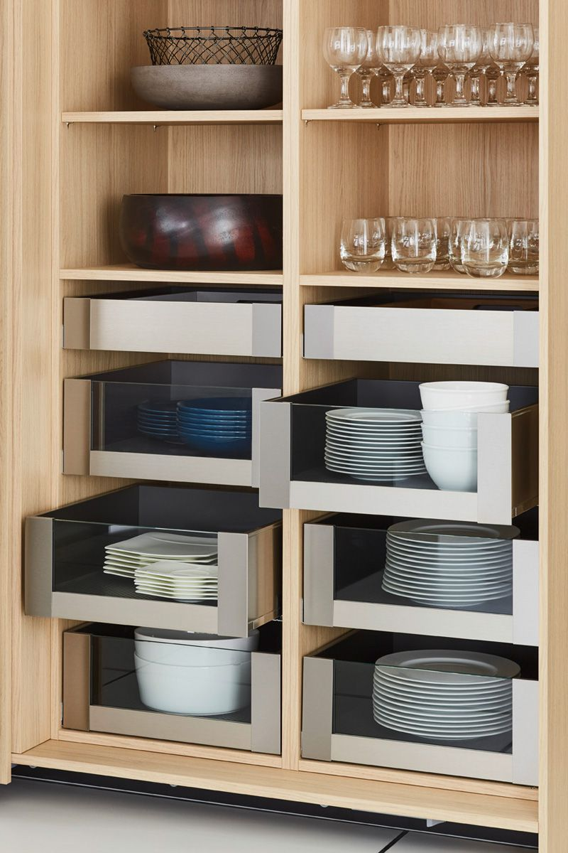 Pull-out kitchen storage solutions