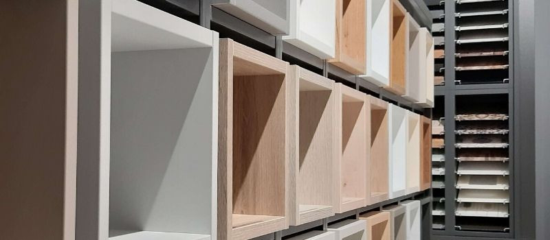 Carcases in Ballerina kitchens are available in 26 different colours