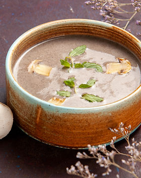 front-close-view-delicious-mushroom-soup