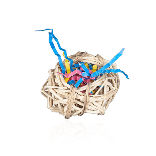 Vine Cup with Shredded Paper
