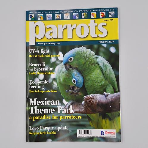 Parrots Magazine February