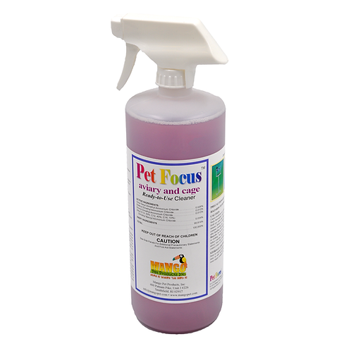 Aviary and Cage Cleaner Spray