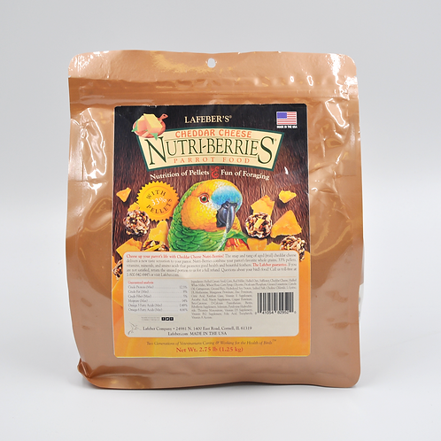 Nutri-Berries Cheddar Cheese 2.75 lb