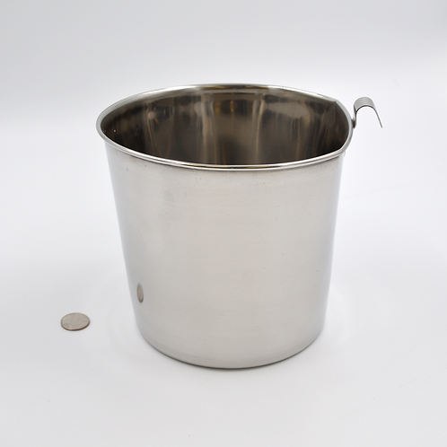 4 Quart Stainless Steel Bucket Side Latch