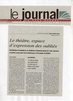 Elie Briceno - Le Journal du Pays Ba