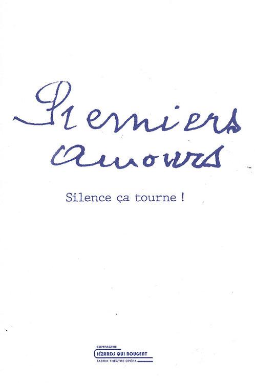 "Livre ""Premiers Amours Silence ça tourne !"""