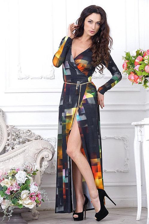 Платье Акварель