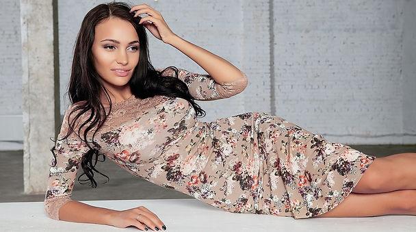 Вечерние и Коктейльные платья от российского дизайнера одежды Полины Ефимовой