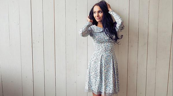 """Коллекция дизайнерской одежды """"Provence"""" от российского дизайнера Полины Ефимовой"""