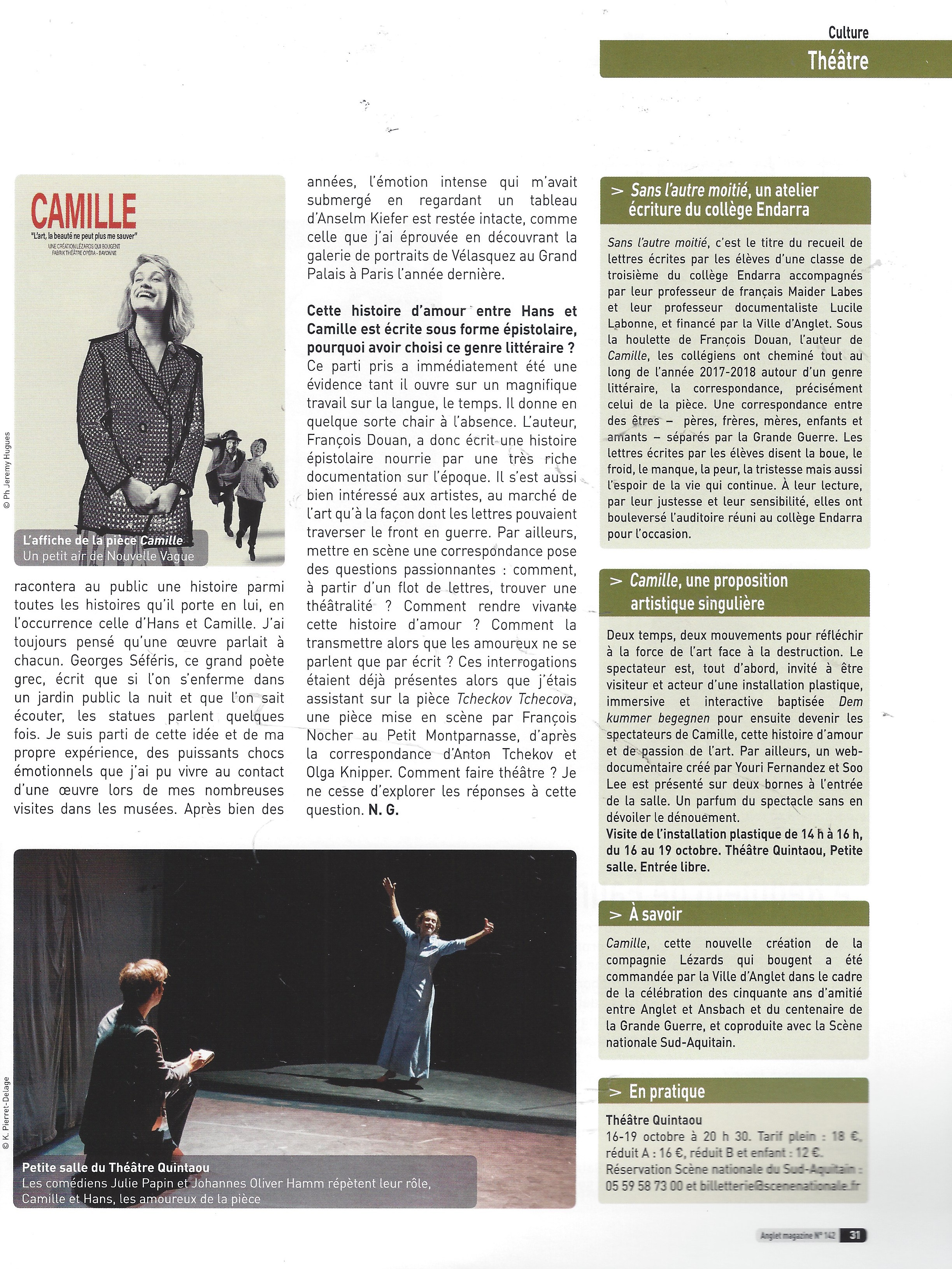 Octobre 2018 - Anglet Magazine 2