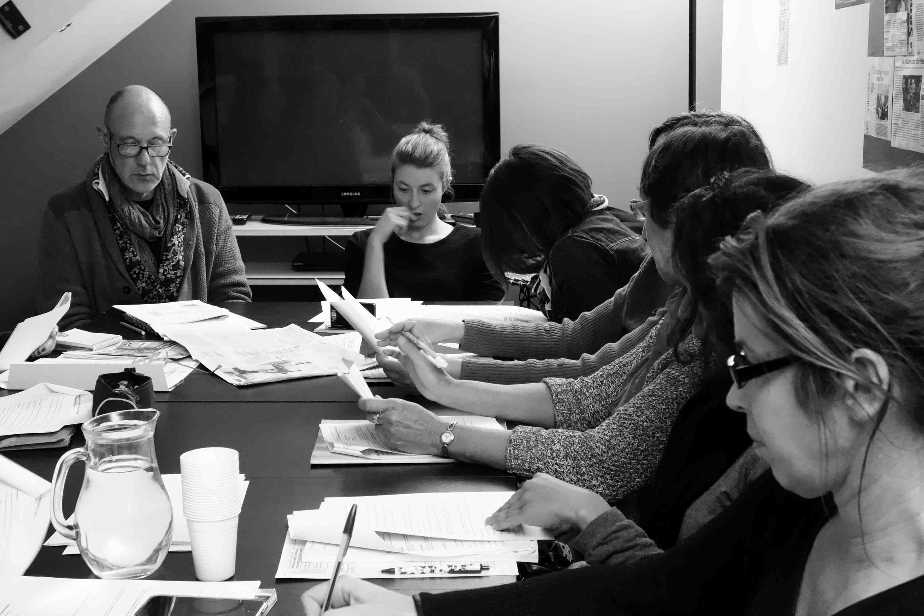 Atelier redaction du journal