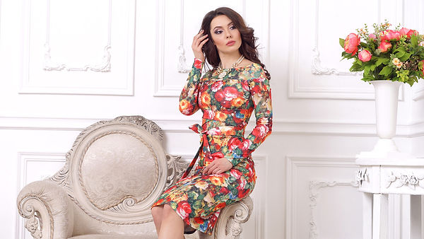 """Коллекция """"Spring Flowers"""" от российского дизайнера одежды Полины Ефимовой"""
