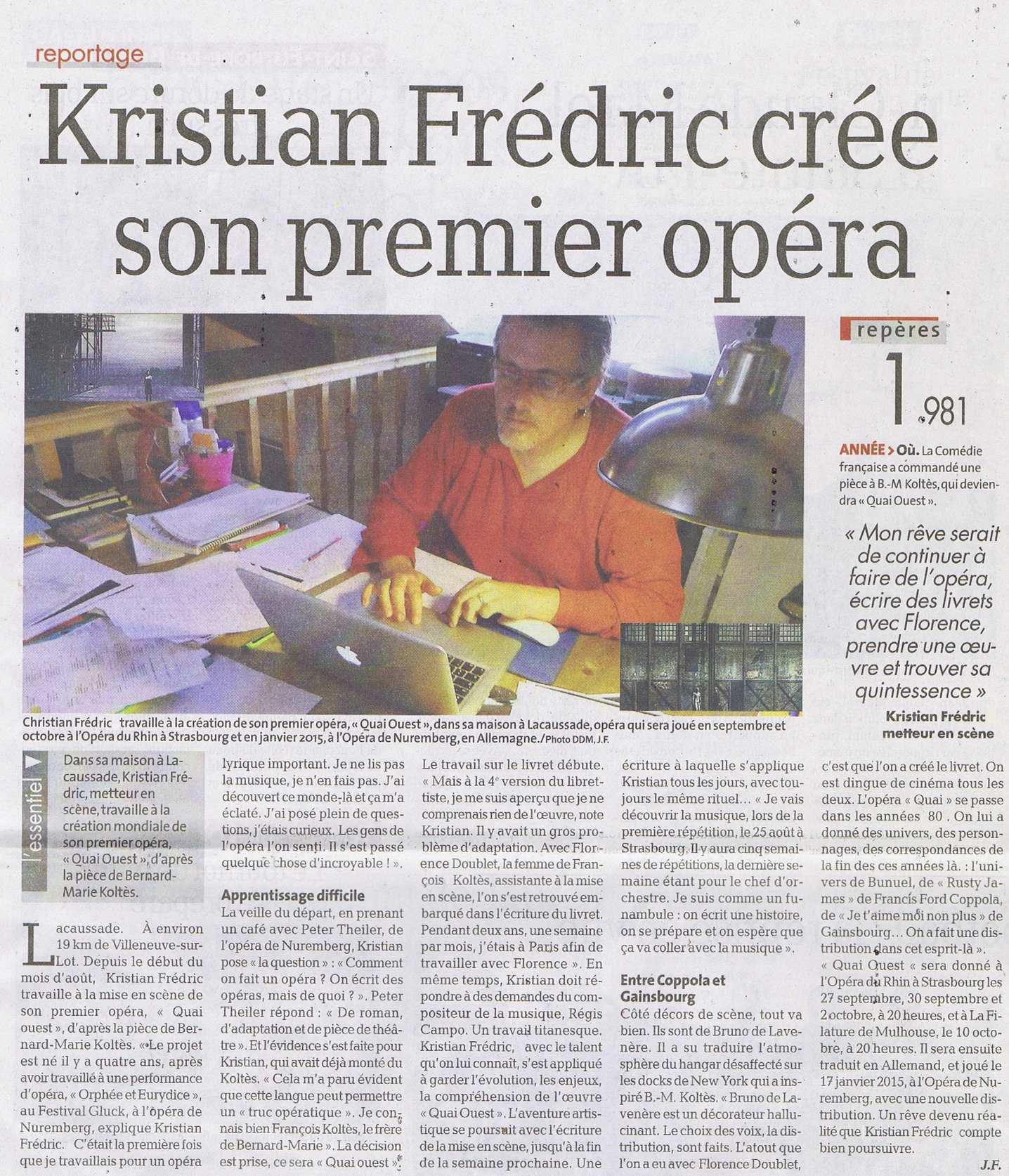 Opera Quai Ouest