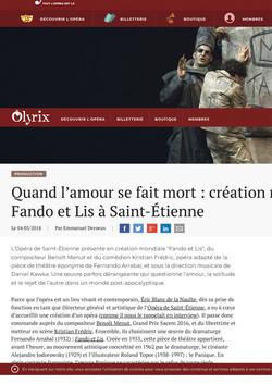 Olyrix - FANDO ET LIS 1