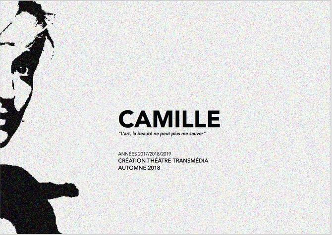 """Camille - """"L'art, la beauté ne peut plus me sauver"""""""
