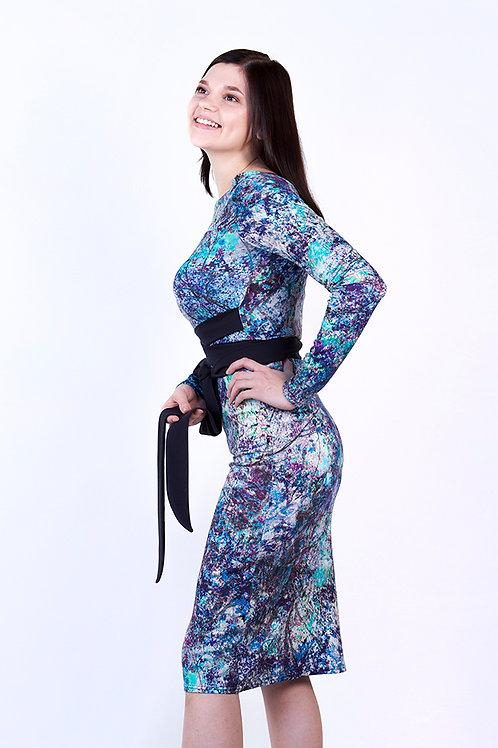 Голубое платье Frida
