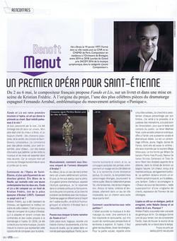 Opera magazine - Fando et Lis