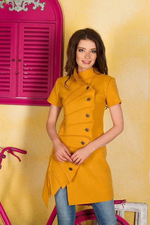Платье-жакет Лист