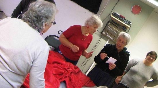 Conception - atelier couture