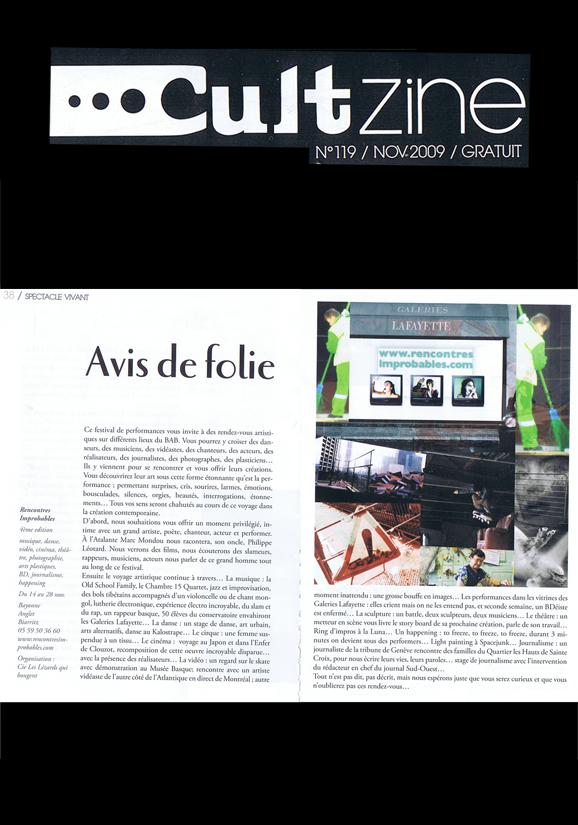 le-cultzine-nov-2009
