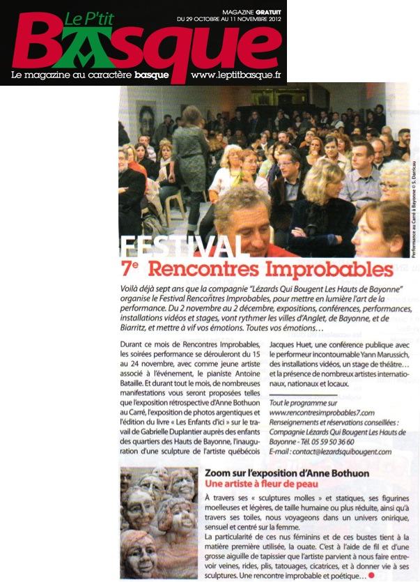 Festival Rencontres Improbables 7
