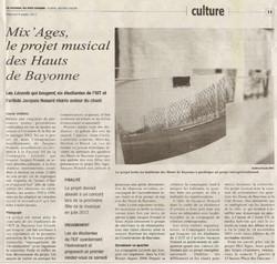 Mix'ages - Journal du Pays Basque