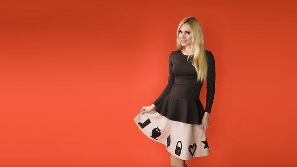 """Коллекция дизайнерской одежды""""Woodland"""" от российского дизайнера Полины Ефимовой"""