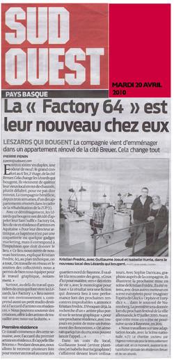 La Factory 64 Cité Breuer
