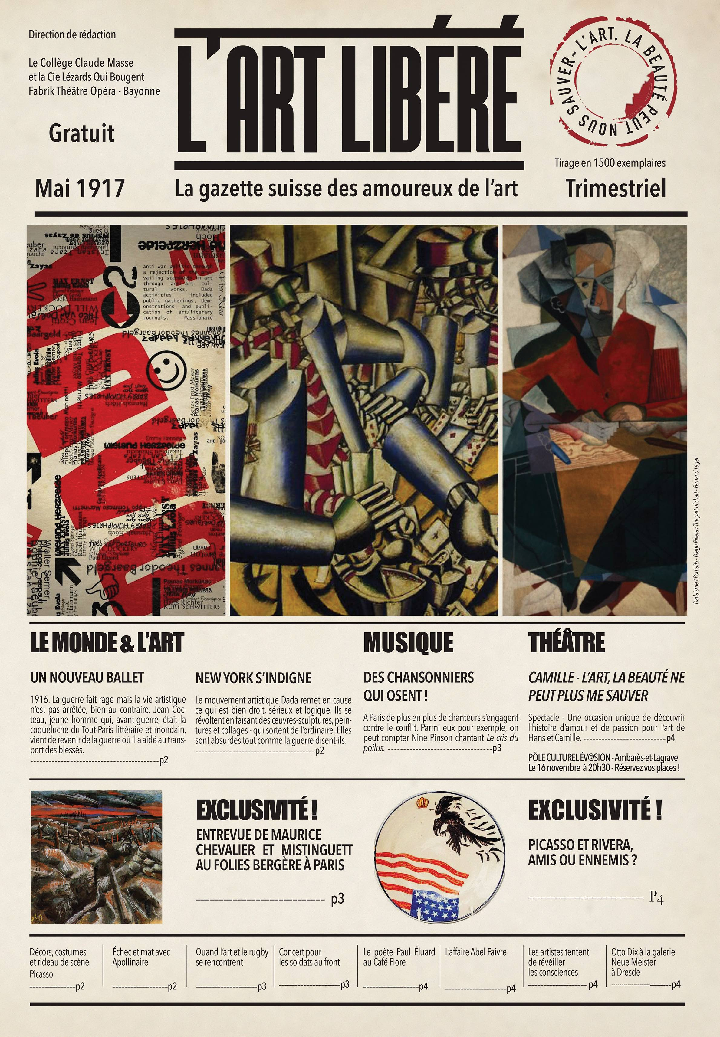 Journal L'Art Libéré