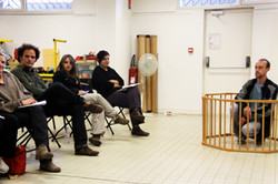 Stage theatre Elie Briceno