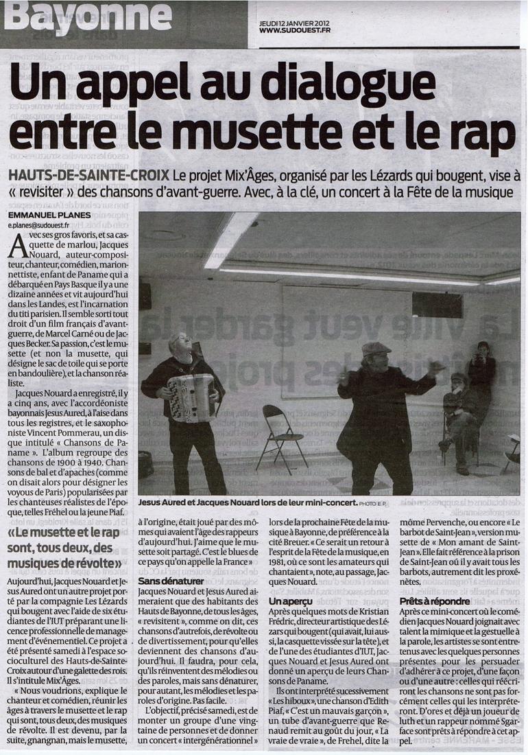 MixÂges - Journal Sud-Ouest