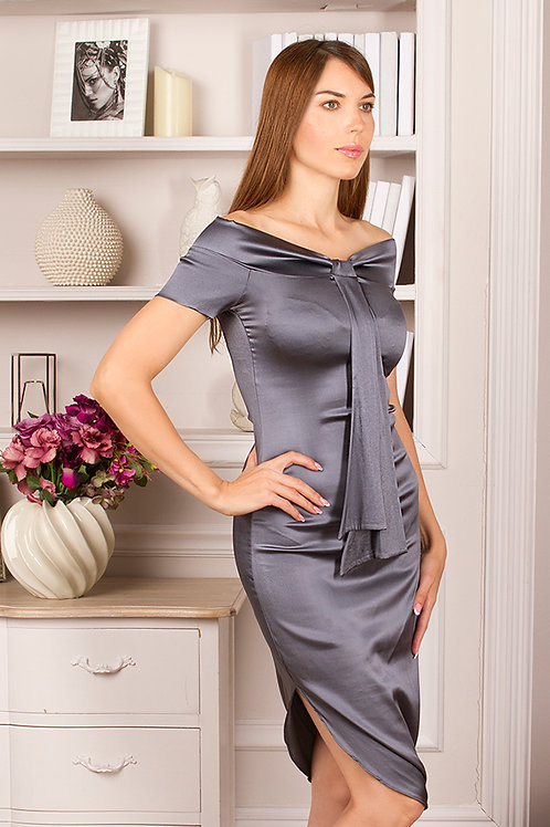 Платье Икебана-silk