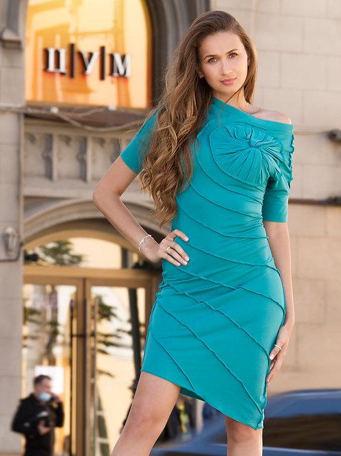 Бирюзовое платье Секвойя