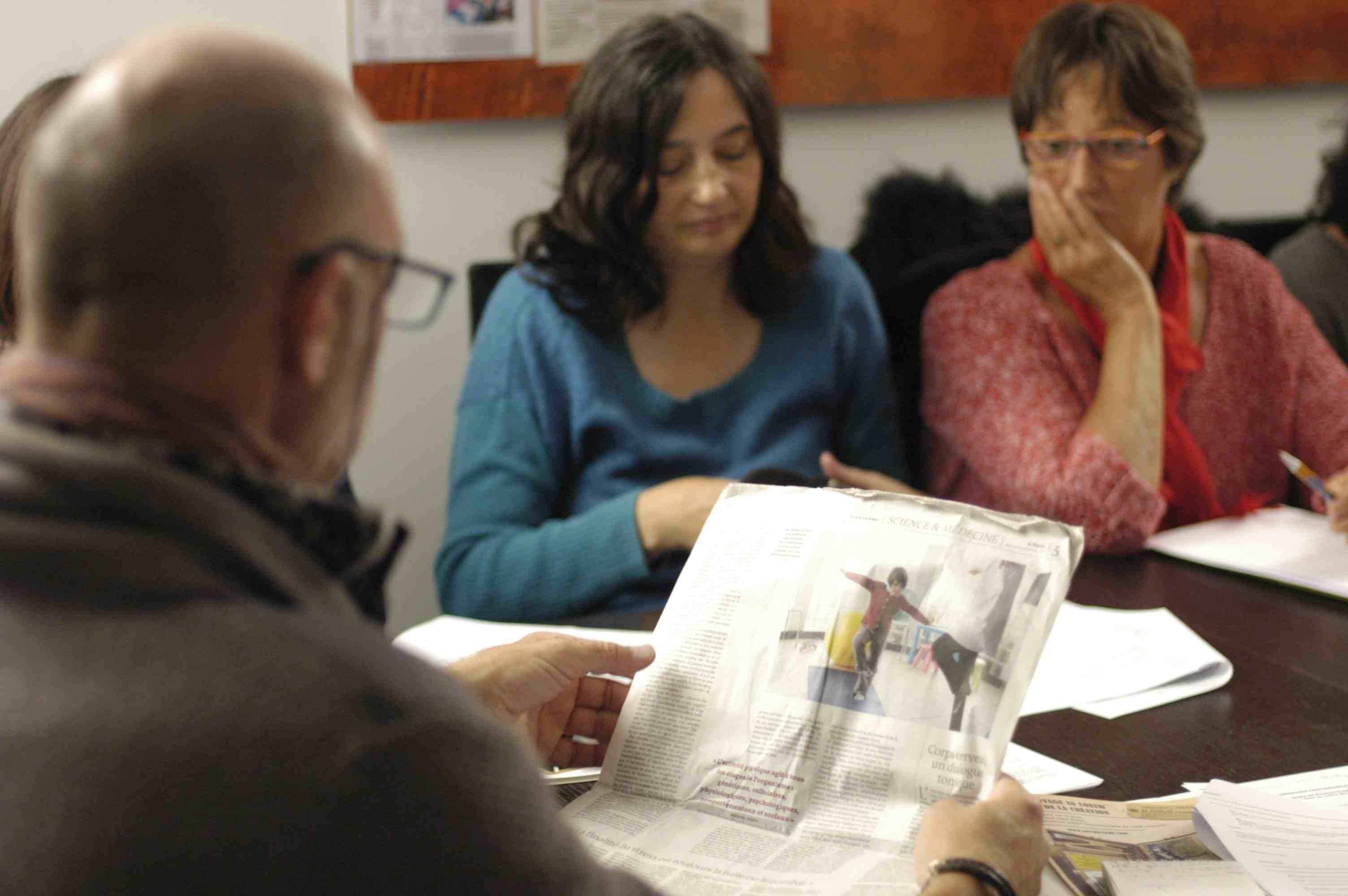 Atelier redaction du journa