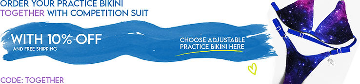 adjustable practice bikini