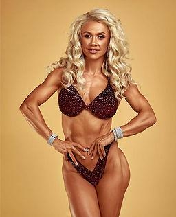 IFBB bikini competitor